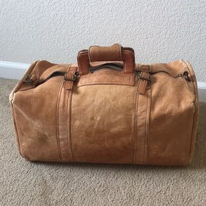 Other - Handmade Colombian Leather Duffle Bag